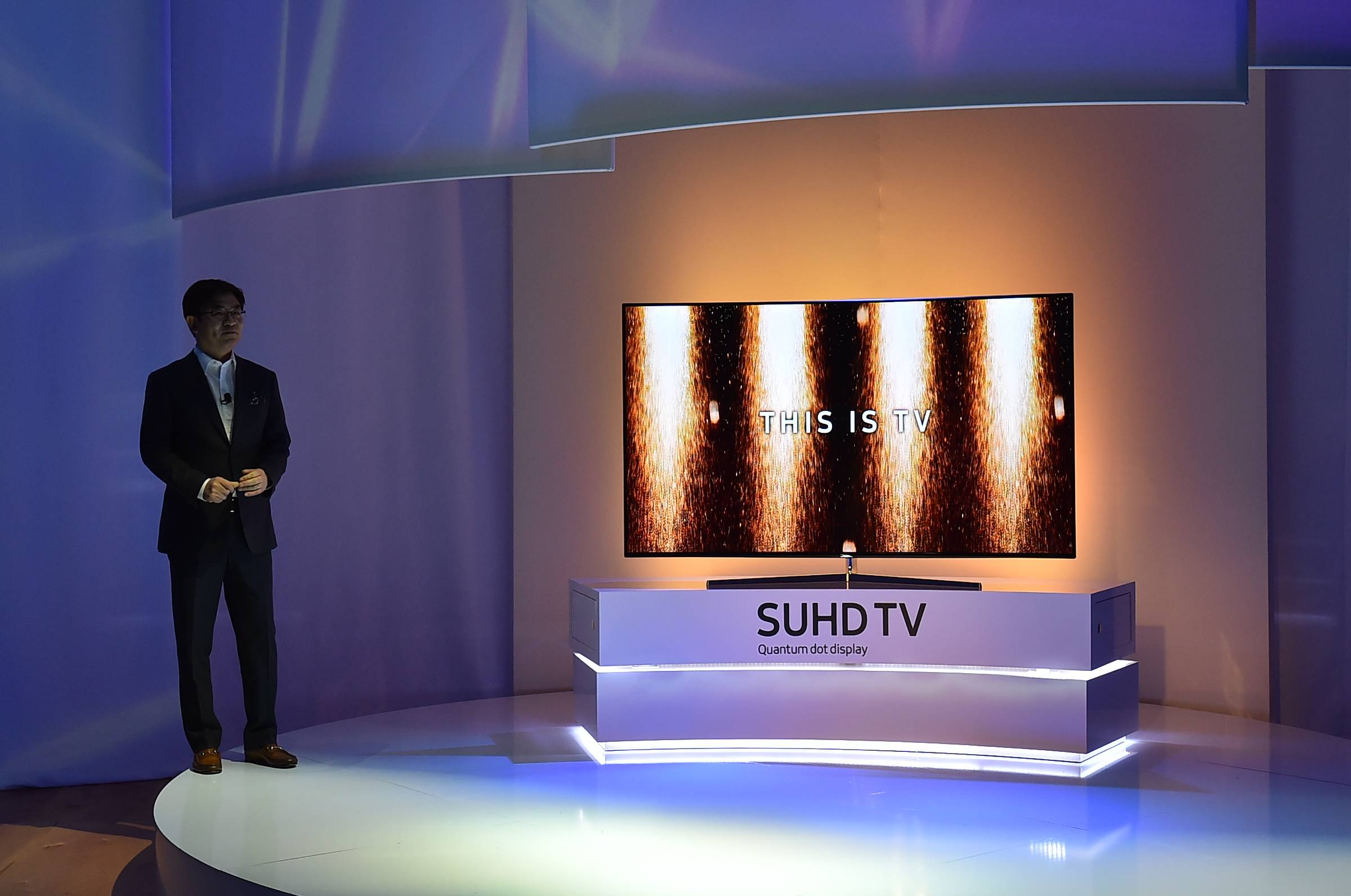2016 CES Samsung First Look on Monday, Jan. 4, 2016, in Las Vegas, Nev. (Photo by Jordan Strauss/Invision for Samsung/AP Images)